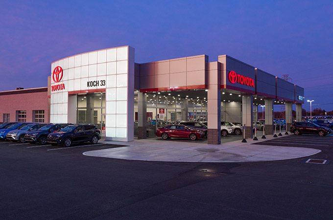 Koch 33 Toyota Dealership & Collision Center