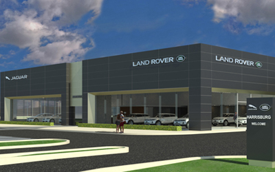Mowery Breaking Ground on New Jaguar Land Rover Dealership