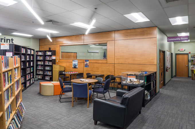 Red Land Library