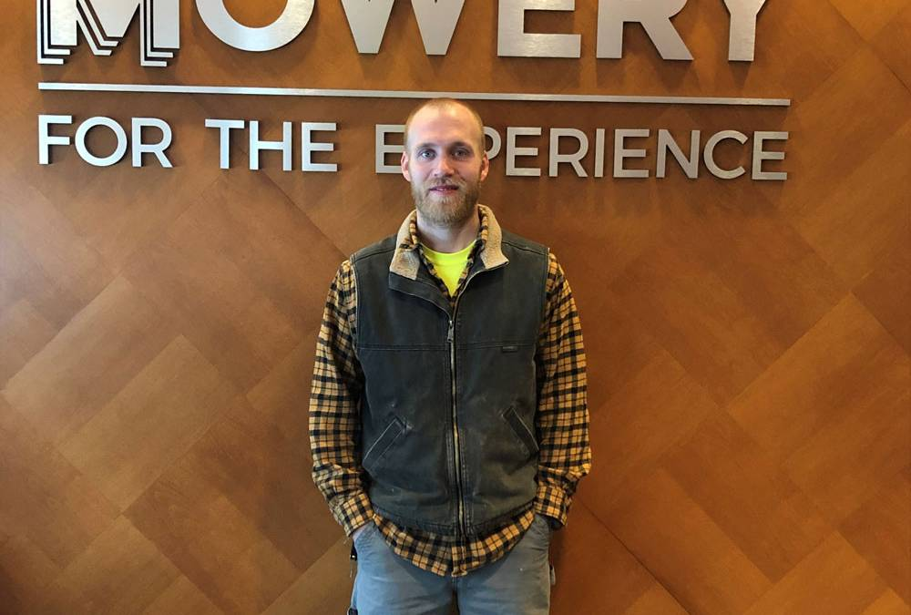 Featured Employee: Nathan Sholley