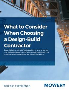 What to Consider when Choosing a Design-Build Contractor